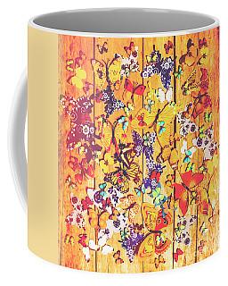Butterfly Papercraft  Coffee Mug