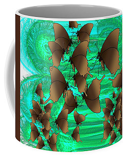 Butterfly Patterns 3 Coffee Mug