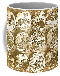 Button Roadhouse Coffee Mug