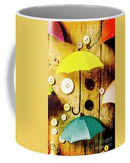 Button Storm Coffee Mug