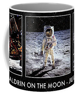 Buzz Aldrin On The Moon Coffee Mug