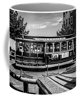 Cable Car Turn Around Coffee Mug
