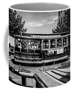 Cable Car Turn Around Coffee Mug