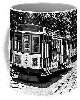 Coffee Mug featuring the photograph Cable Cars by Stuart Manning