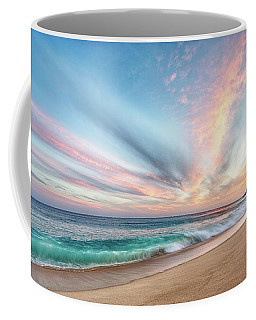 Coffee Mug featuring the photograph Cabo San Lucas Beach Wave Sunset by Nathan Bush