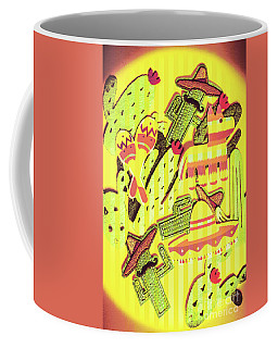 Cactus Carnival Coffee Mug