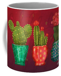 Cactus Friends II Coffee Mug