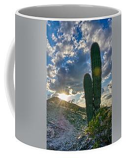 Cactus Portrait  Coffee Mug
