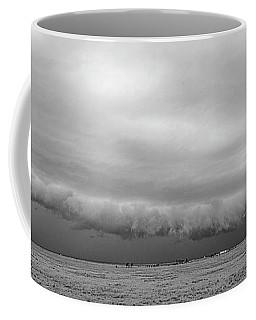 Cactus Roll Cloud Bw Coffee Mug
