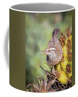 Cactus Wren Coffee Mug