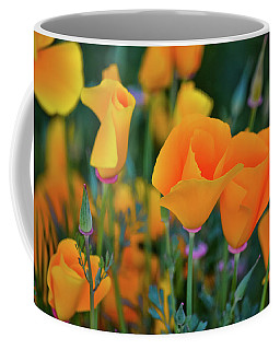 California Poppies Lake Elsinore Coffee Mug