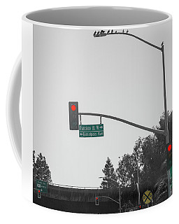 California Red Lights 101 Coffee Mug