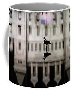 Coffee Mug featuring the photograph Calm Before The Storm by Brad Wenskoski