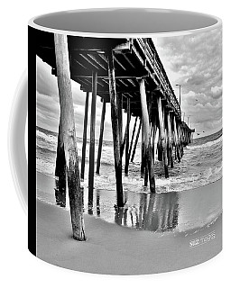 Calm Before The Storm Bw Coffee Mug