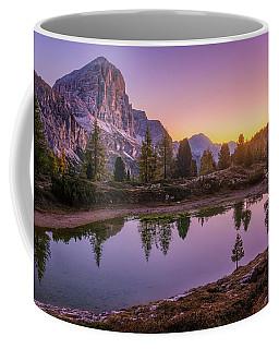 Calm Morning On Lago Di Limides Coffee Mug