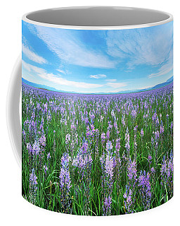 Camas Blue Coffee Mug