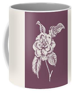 Camelia Purple Flower Coffee Mug