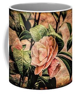 Camellia Grunge Coffee Mug