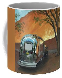 Camping At The Red Rocks Coffee Mug