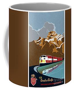 Canadian Pacific Rail Vintage Travel Poster Coffee Mug
