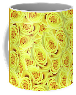Coffee Mug featuring the photograph Candlelight Roses by Rockin Docks