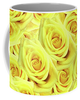 Candlelight Roses Coffee Mug