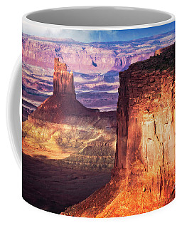 Coffee Mug featuring the photograph Candlestick Tower by Scott Kemper