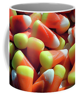 Coffee Mug featuring the photograph Candy Corn For Halloween by Bill Swartwout Fine Art Photography