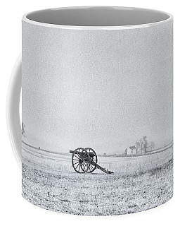 Cannon Out In The Field Coffee Mug