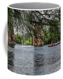 Canoeing Lady Bird Lake Coffee Mug