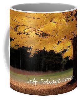 Canopy Of Gold Fall Colors Coffee Mug