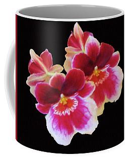 Canvas Violets Coffee Mug