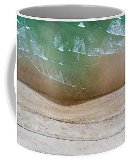 Cape Cod Beach Abstract Coffee Mug