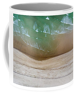 Cape Cod Beach Abstract Coffee Mug
