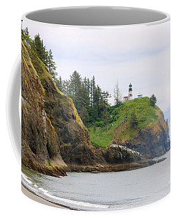 Cape Disappointment With Cliffs Coffee Mug