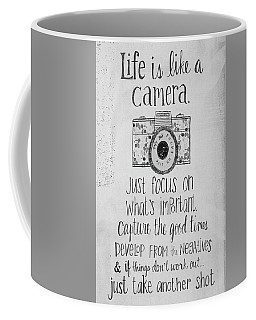 Capture Whats Important Coffee Mug