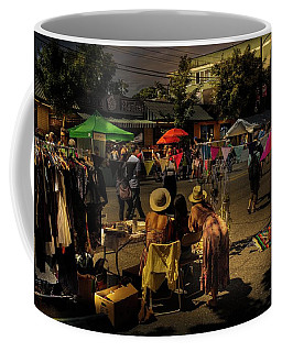 Coffee Mug featuring the photograph Car-free Day No. 2 by Juan Contreras
