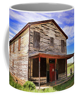 Coffee Mug featuring the photograph Carter's Store In Goochland Virginia by Ola Allen