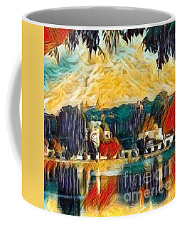 Coffee Mug featuring the digital art Carthage by A zakaria Mami