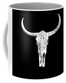 Carved Animal Skull  Coffee Mug
