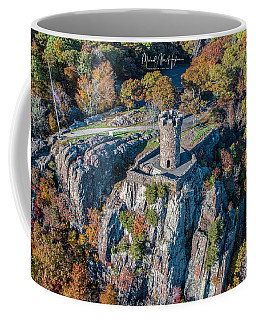 Coffee Mug featuring the photograph Castle Craig by Michael Hughes