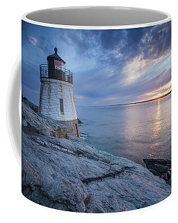 Castle Hill Light Sunset Coffee Mug