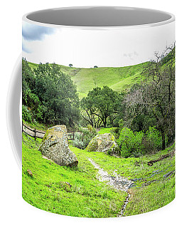 Coffee Mug featuring the photograph Castle Rock Trailhead by Scott McGuire