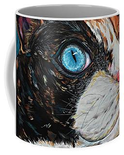 Cat In Color Coffee Mug