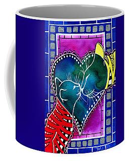 Cat Mom Love Coffee Mug