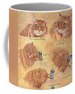 Cat Splash Coffee Mug