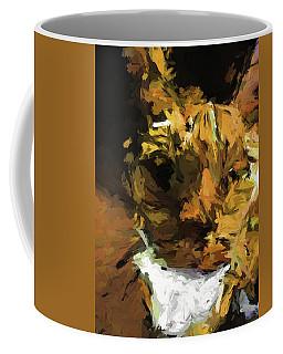 Cat Up Close Coffee Mug