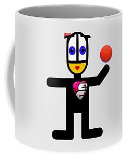 Cat With A Ball Coffee Mug