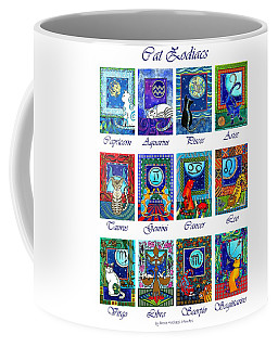 Cat Zodiac Astrological Signs Coffee Mug