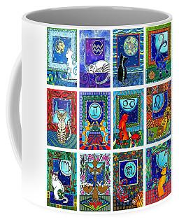 Cat Zodiac Paintings  Coffee Mug